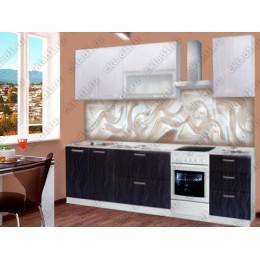 "Кухня ""Яна"" 2,0 м МДФ (Бархат)"